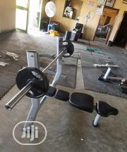 Olympic Barbell Weight With Bench | Sports Equipment for sale in Abuja (FCT) State, Asokoro