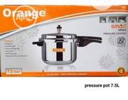 7.5L Orange Pressure Pot | Kitchen Appliances for sale in Lagos State, Lagos Island