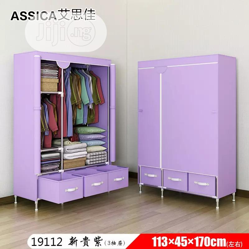 Archive: Movable Wardrobe With Drawer