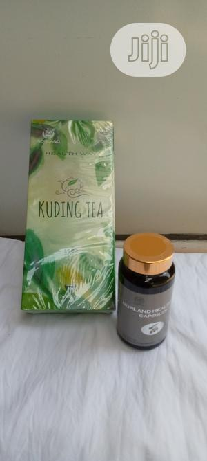 Healthway Caps/KUDDING TEA(Reduces Blood Pressure And Cholesterol)   Vitamins & Supplements for sale in Abuja (FCT) State, Jabi