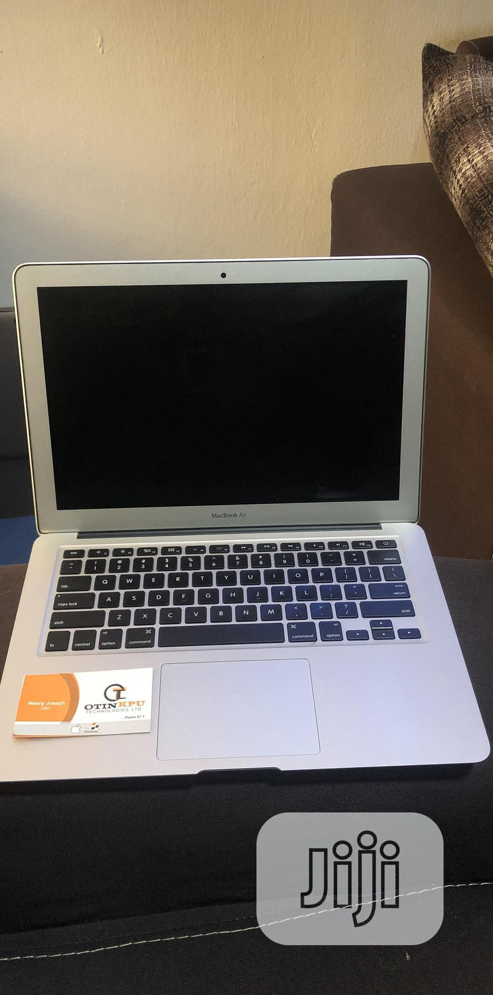 Laptop Apple MacBook Air 8GB Intel Core I7 SSD 256GB | Laptops & Computers for sale in Ajah, Lagos State, Nigeria