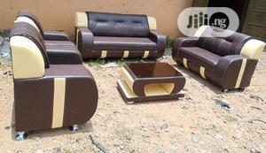 Complete Set Of 7 Seaters Sofa Chairs With Centre Table. 3-2-1-1 Couch   Furniture for sale in Lagos State, Ikeja
