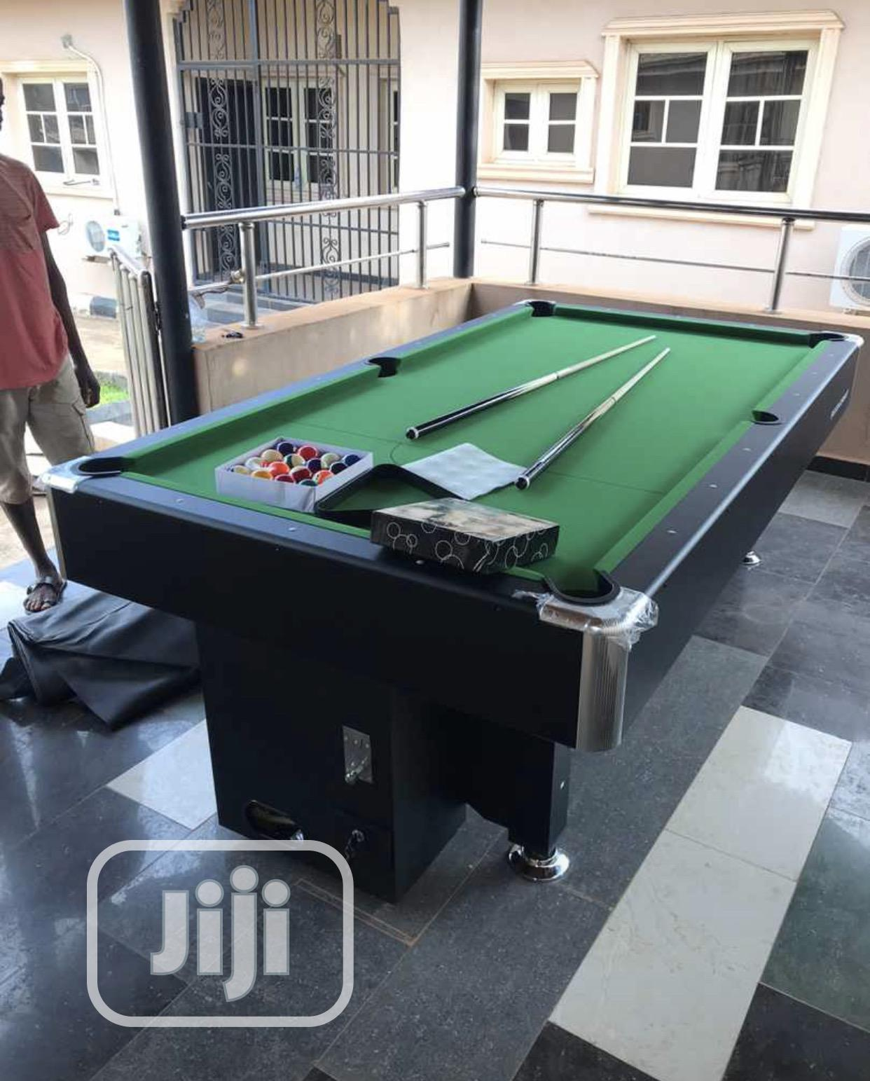Coin Snooker Board