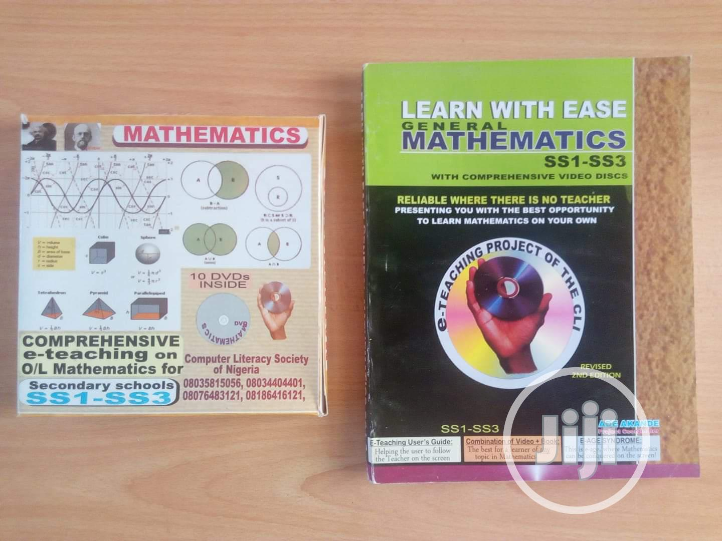 Chemistry, Physics And Maths On DVD