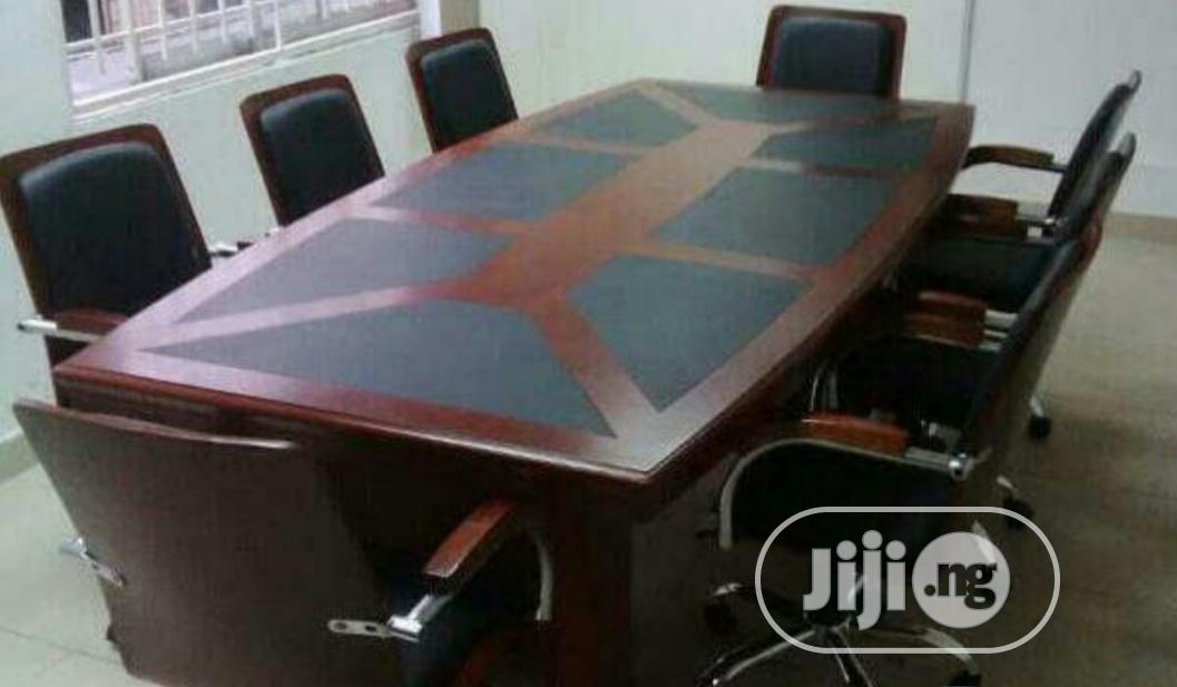 Archive: New Exotic 8 Seater Conference Table and Chairs