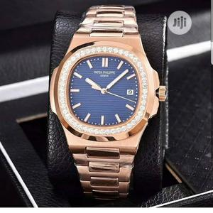 Patek Philippe Automatic Ice Head Rose Gold Chain Watch | Watches for sale in Lagos State, Lagos Island (Eko)
