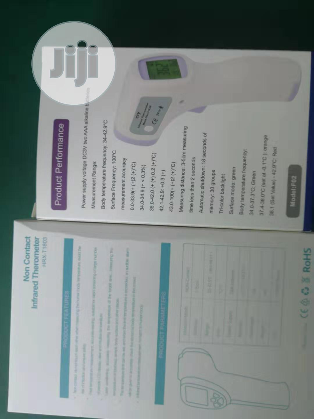 Non Contact Forehead Infrared Thermometer | Medical Equipment for sale in Oshodi, Lagos State, Nigeria