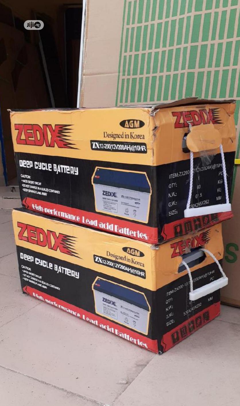 Zedix 200ah 12v Battery