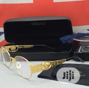 Versace Gold Glasses for Men's | Clothing Accessories for sale in Lagos State, Lagos Island