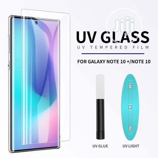 Archive: Liquid UV Tempered Glass For Samsung Note 10 UV Screen Protector