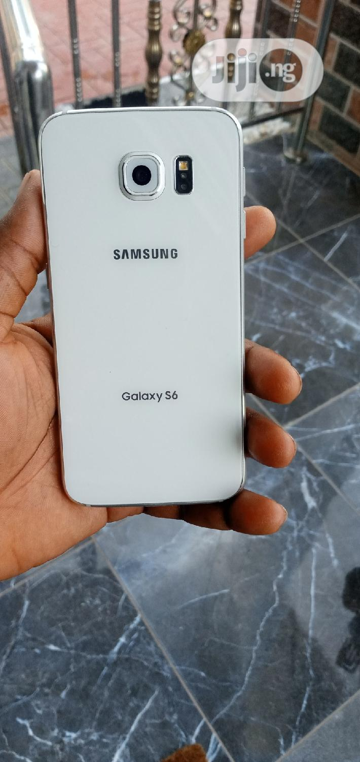 Samsung Galaxy S6 32 GB White | Mobile Phones for sale in Ikeja, Lagos State, Nigeria