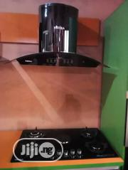 Phima Hob 4 Gas and 1 Hot Plate / EXTRACTOR HOOD ( 90 * 60 ) + 5 Years | Kitchen Appliances for sale in Lagos State, Ojo