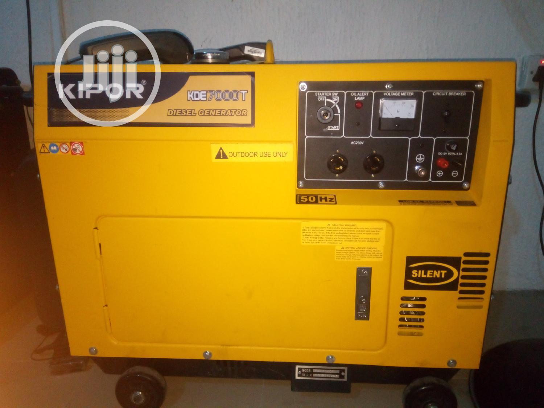 Archive: Kipor Diesel 6.5kva Sound Prof Gen