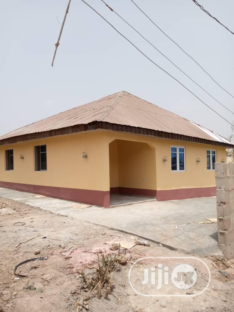 Newly Built 3 Bedroom Bungalow At Alakia Airport Area Ibadan