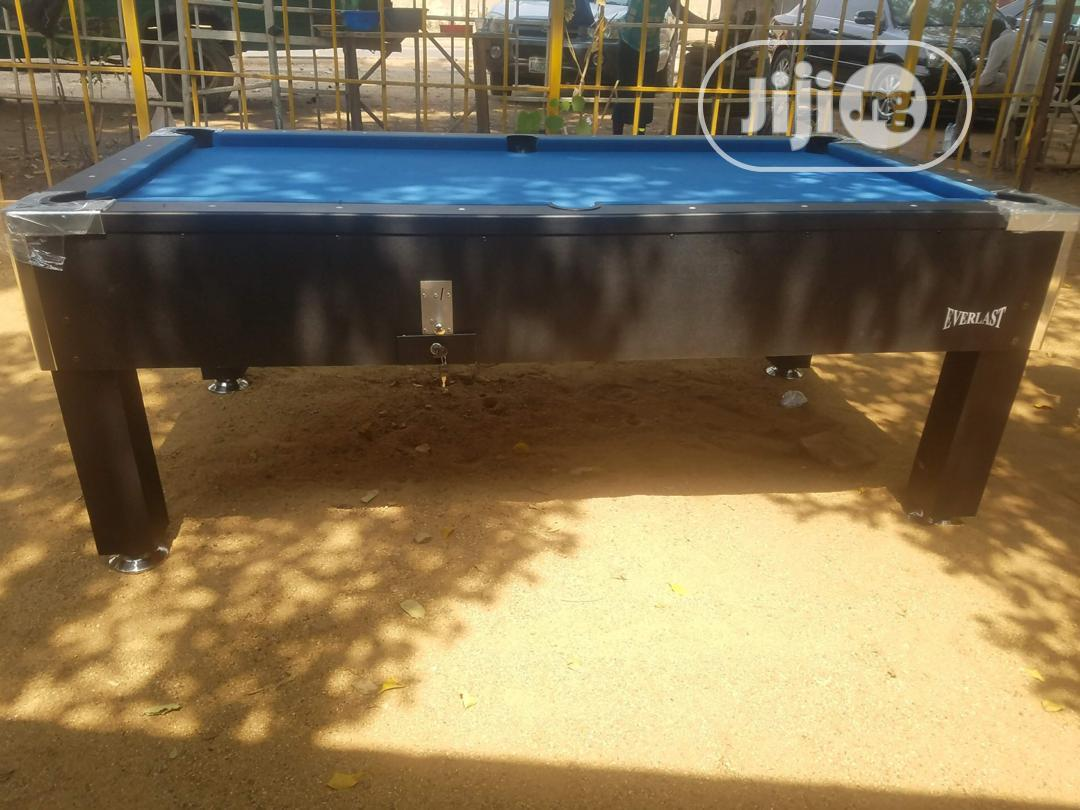 New Blue Coin Opreted Snooker Table