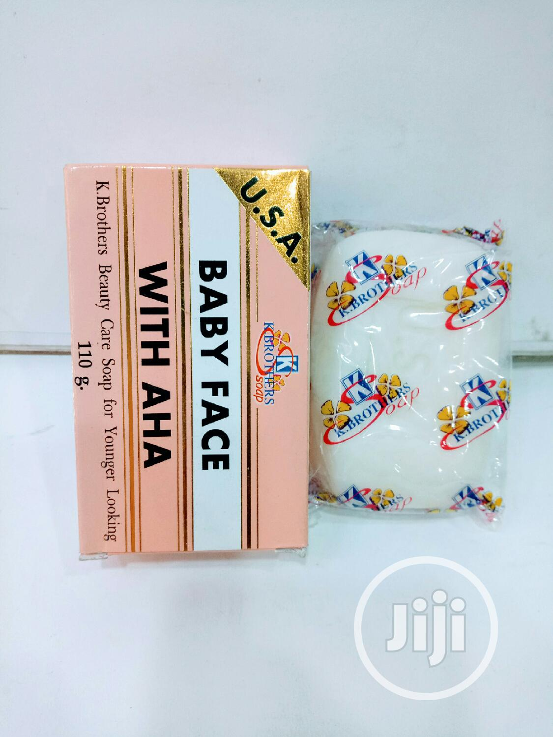 Baby Face Soap With AHA