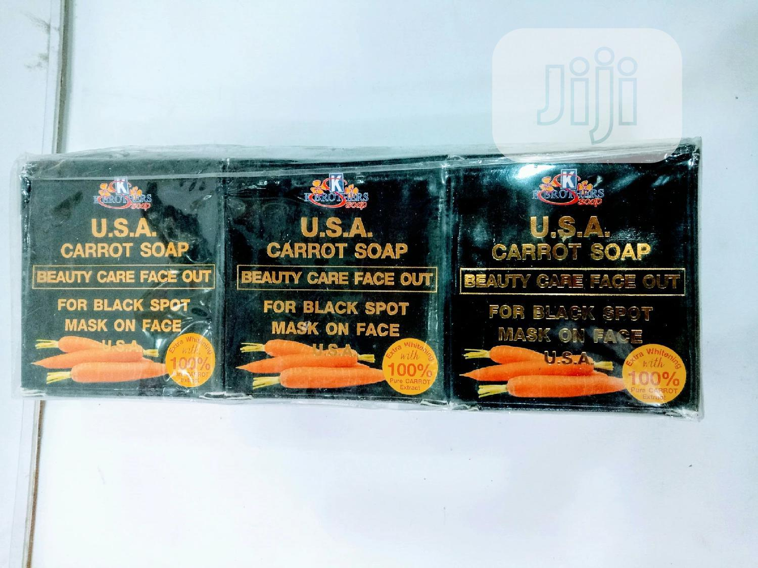 K Brothers Carrot Soap (Pack)