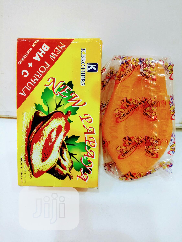 New Papaya Soap