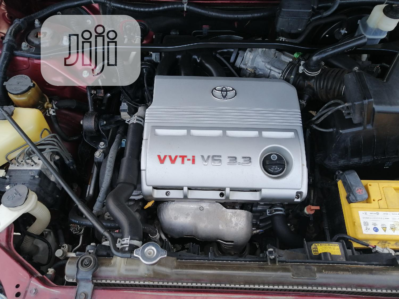 Archive: Toyota Highlander V6 2005 Red