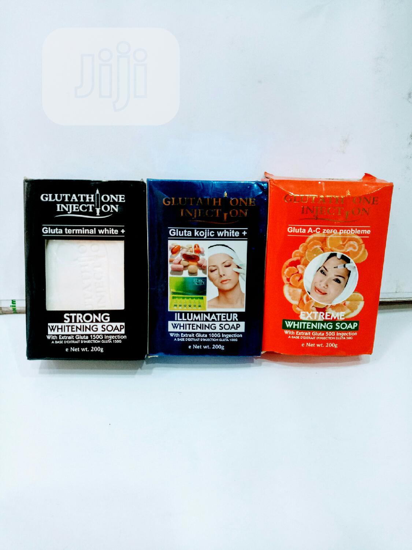Glutathione Injection Whitening Soap