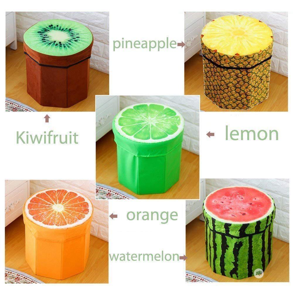 Fruity Storage Box Organizer/Stool