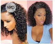 Water Wave 12 Inches Human Hair Wig+ Frontal | Hair Beauty for sale in Lagos State, Ojo