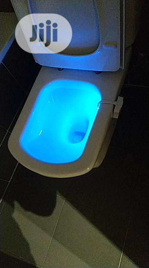 Smart PIR Motion Sensor Toilet Seat Night Light With 8 Colors | Plumbing & Water Supply for sale in Surulere, Lagos State, Nigeria