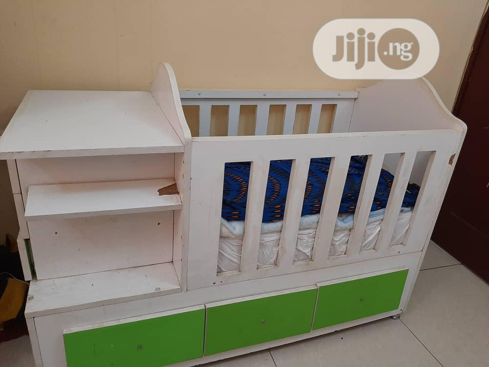 Archive: Baby Cot With Mattress
