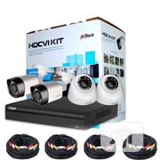 Dahua XVR-2MP- 4CH 2MP + 4 Cameras (Dome & Bullet )HDCVI Kit CCTV | Security & Surveillance for sale in Lagos State, Ikeja