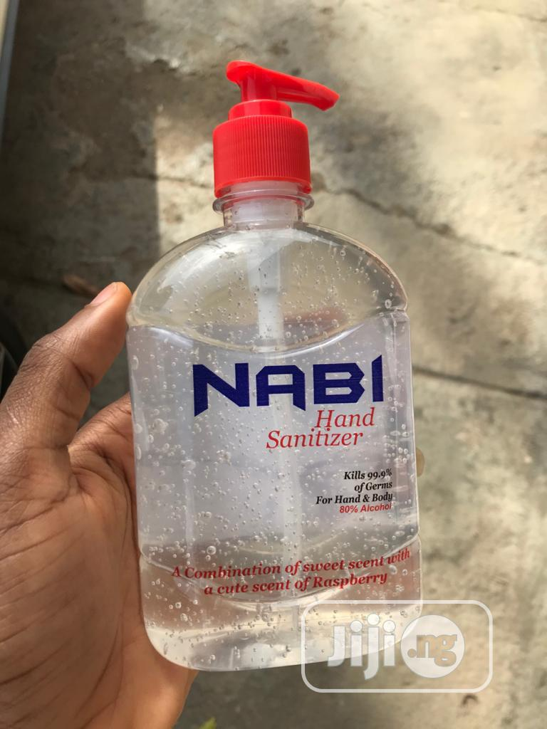 Nabi Hand Sanitizer Who Recommended