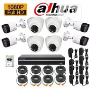 Dahua CCTV 2mp 8channel 2tb HDD   Security & Surveillance for sale in Lagos State, Ikeja
