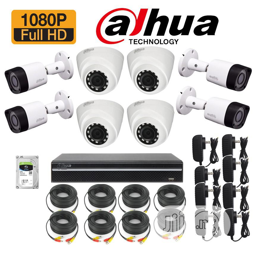 Dahua CCTV 2mp 8channel 2tb HDD
