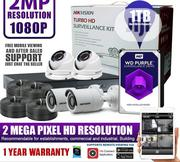 Hikvision 4channels And 4cameras 2MP CCTV Package DIY Kit With 1TB HDD   Security & Surveillance for sale in Lagos State, Ikeja