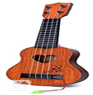Guitar Musical Instrument, Brown   Toys for sale in Lagos State, Amuwo-Odofin