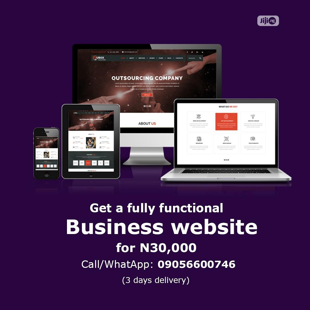 Responsive Information Website for Your Business