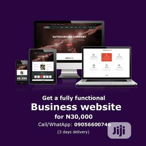 Responsive Information Website for Your Business   Computer & IT Services for sale in Lagos State, Ajah