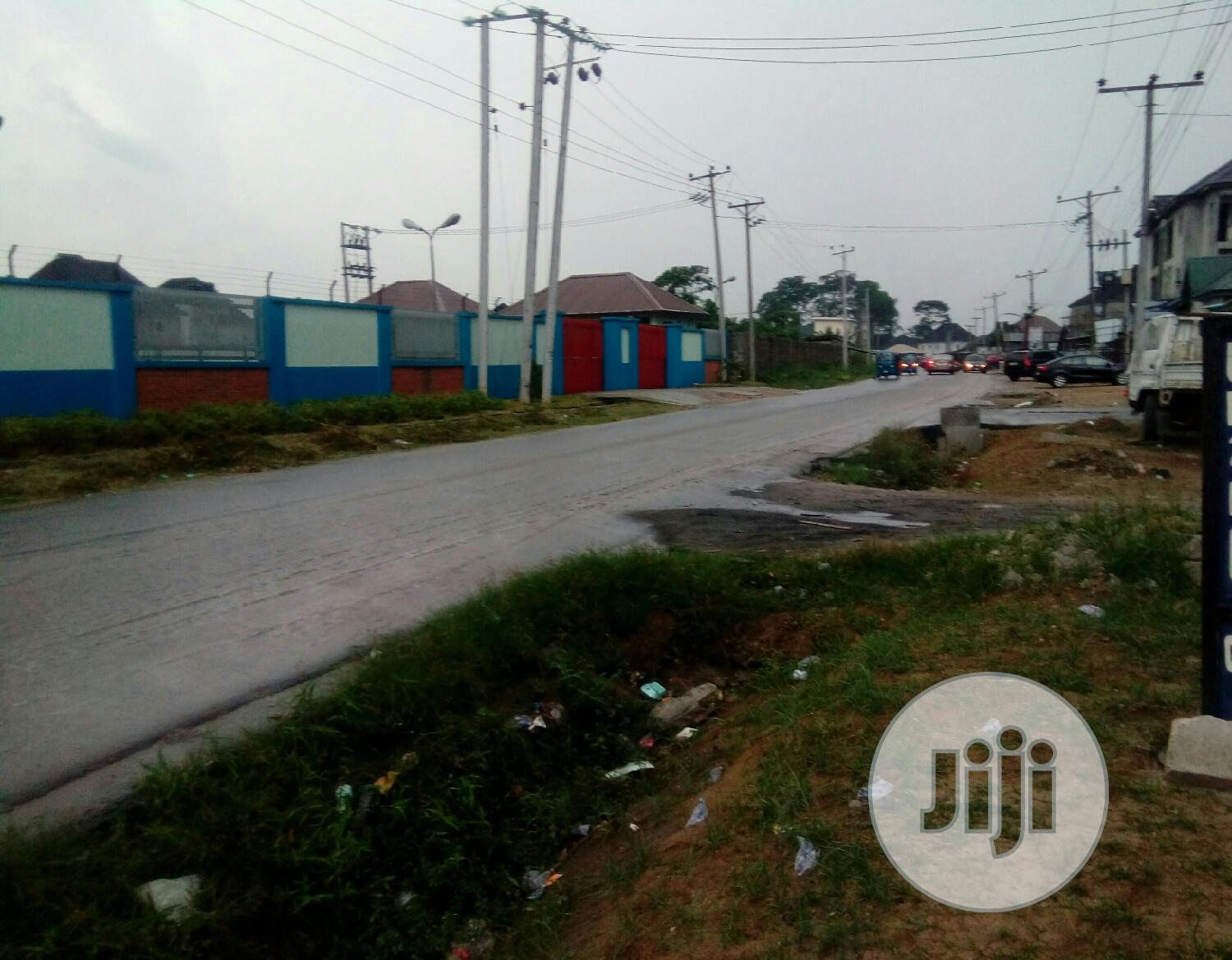 1,2,3,4 Plots Of Land In An Est.@Shell Cooperative, Rd For Sale