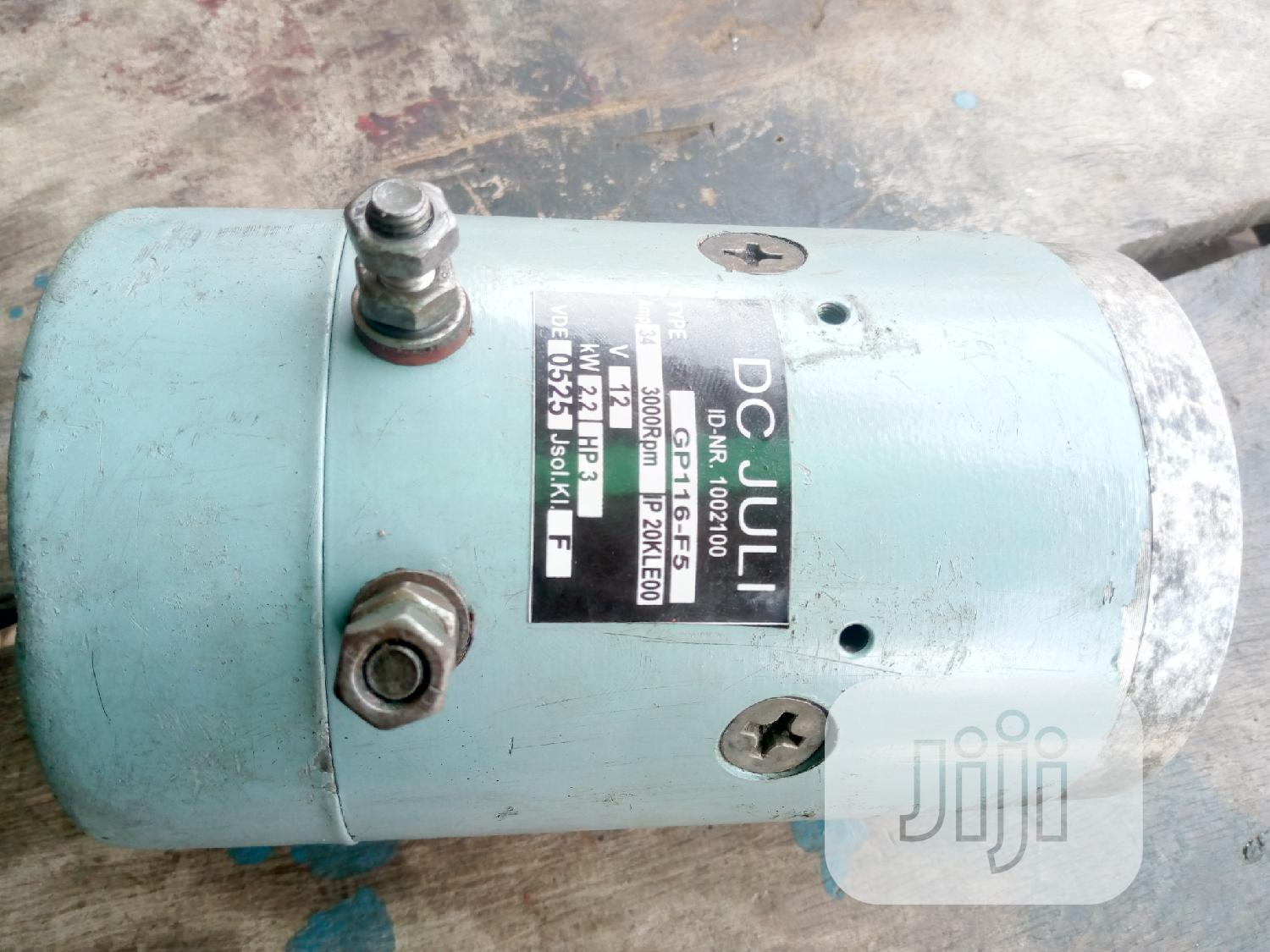 DC Motor 12v 3hp | Hand Tools for sale in Ikeja, Lagos State, Nigeria