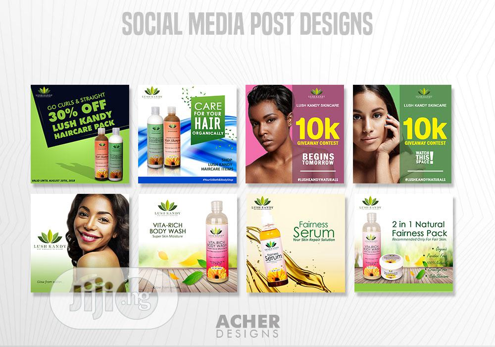 Social Media Post Designs | Computer & IT Services for sale in Agboyi/Ketu, Lagos State, Nigeria