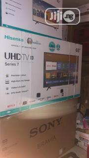 Hisense UHD 4K Tv 65 With Wall Bracket | TV & DVD Equipment for sale in Lagos State, Ikeja