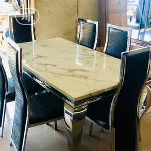 Marble Top Dining Table(213)   Furniture for sale in Lagos State, Gbagada