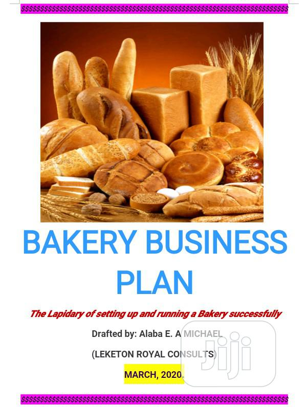 Archive: Get A Lapidary Bakery Business Plan
