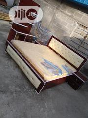(6×6) High Quality Bedframe With Mouka Super Mattress   Furniture for sale in Lagos State, Ojo