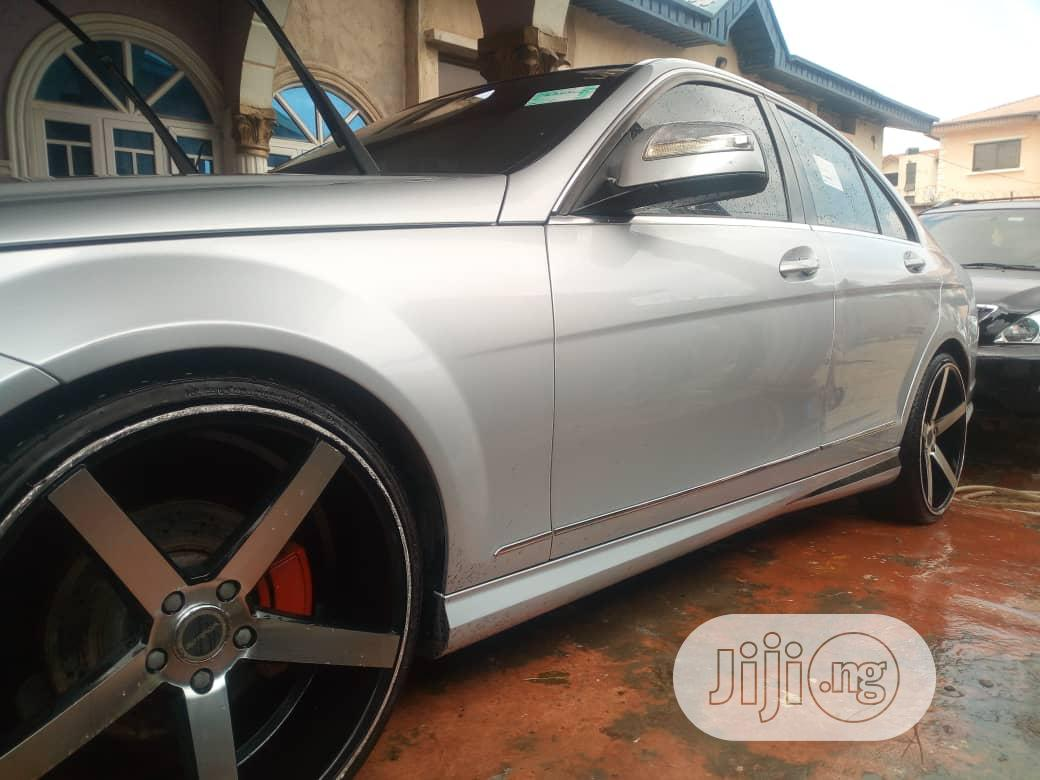 Mercedes-Benz C300 2012 Silver | Cars for sale in Ibadan, Oyo State, Nigeria