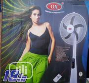 Ox Rechargeable Standing Fan 18 | Home Appliances for sale in Lagos State, Lagos Island