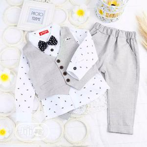 Cute Gentleman Suit Set For Boys | Children's Clothing for sale in Lagos State, Kosofe