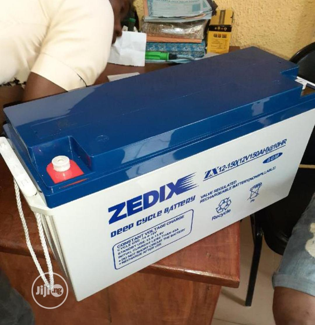 Zedix 150ah 12v Battery