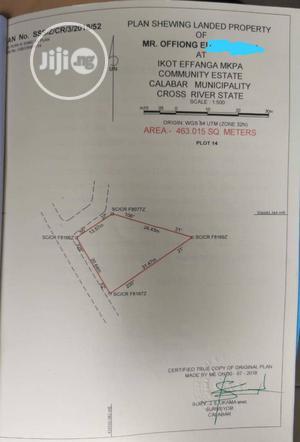 A Plot of Land in Calabar Municipality for Sale   Land & Plots For Sale for sale in Cross River State, Calabar