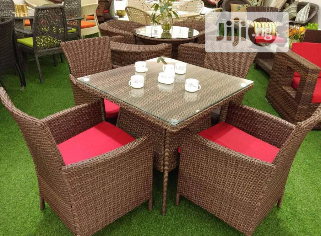 Four Seaters Out/Indoors Chair Set