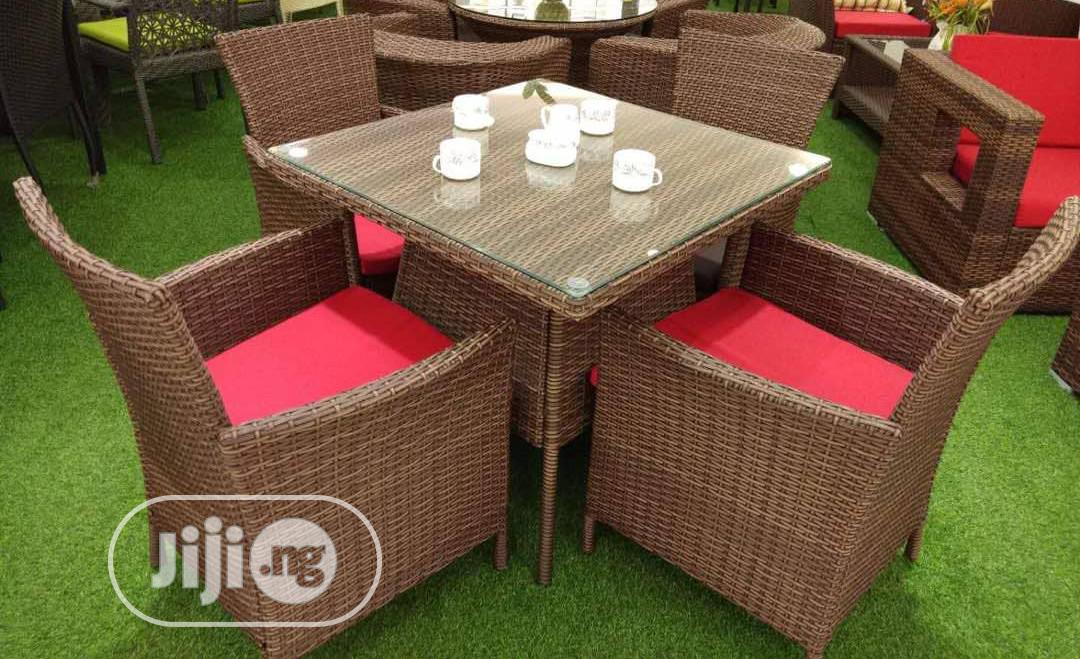 Four Seaters Out/Indoors Chair Set | Furniture for sale in Ojo, Lagos State, Nigeria